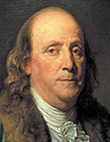 Benjamin Franklin Photo, Will and Trust