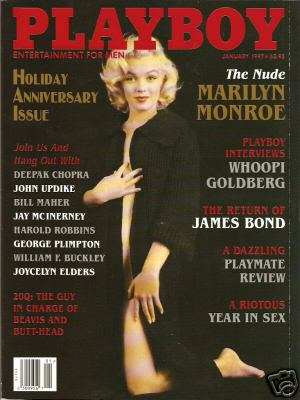 Marilyn Monroe Playboy Magazine Cover Picture